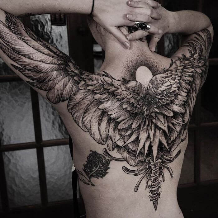 Angel Wing Tattoo Back | Best Designs that Will Inspire You