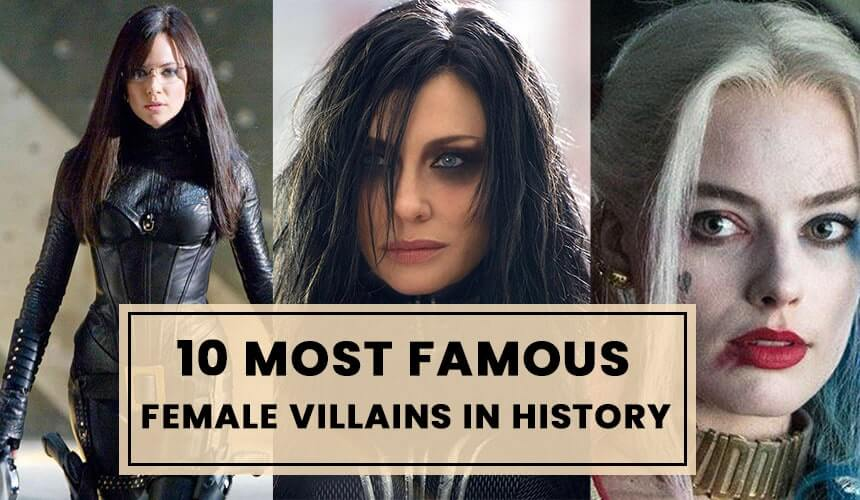 10 Most Famous Female Villains in History of Cinema